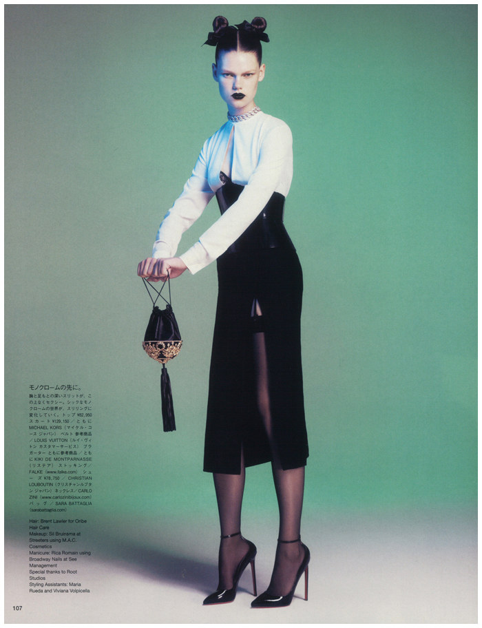 Kelly Mittendorf by Paola Kudacki for Vogue Japan December 2011