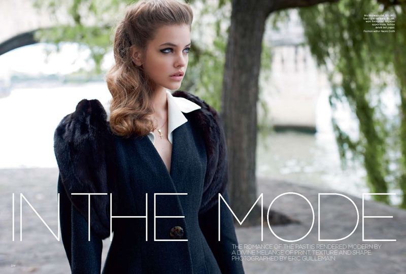 Barbara Palvin by Eric Guillemain for Vogue Australia September 2011