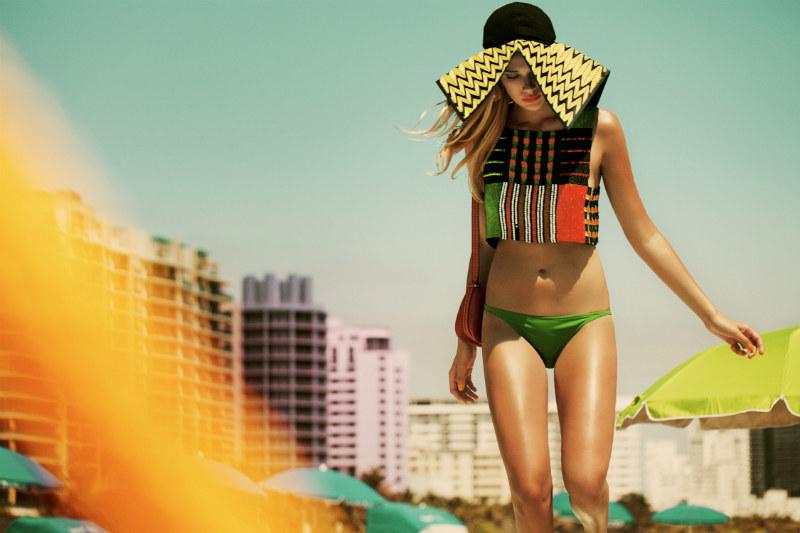 Sara von Schrenk by Markus Zeigler for Elle Mexico July 2011