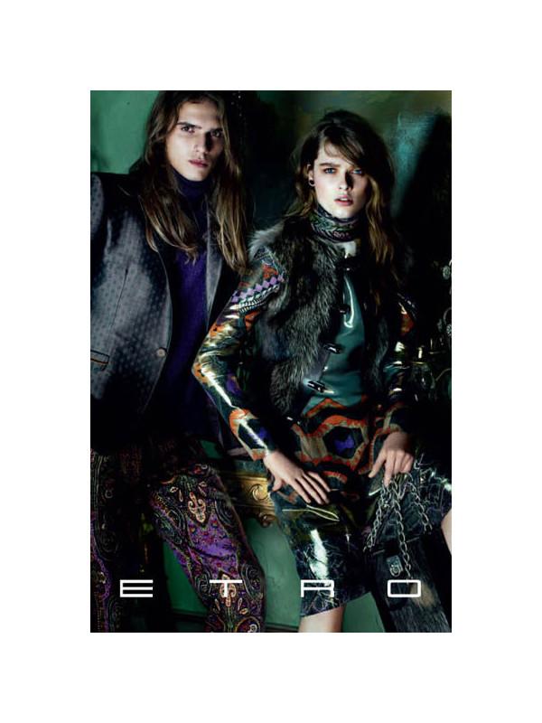 Etro Fall 2011 Campaign   Stella Tennant & Aymeline Valade by Mario Testino