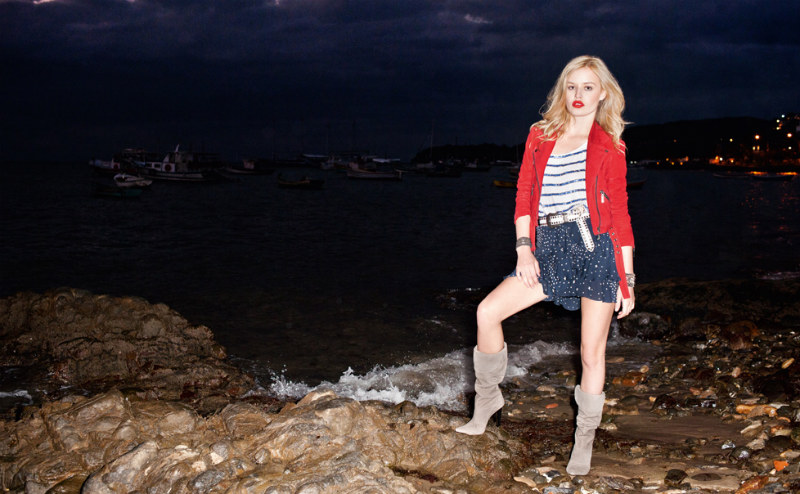 Bo.Bô Spring 2012 Campaign | Georgia May Jagger by Terry Richardson