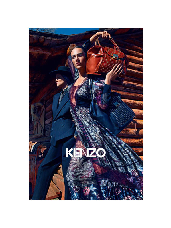 Kenzo Fall 2011 Campaign | Aymeline Valade & Kasia Struss by Mario Sorrenti