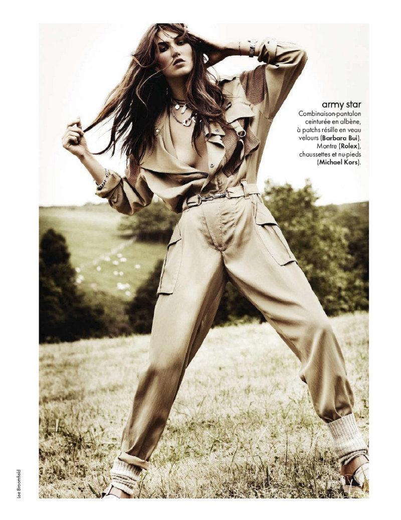 Tallulah Morton by Lee Broomfield for Elle France July 2011