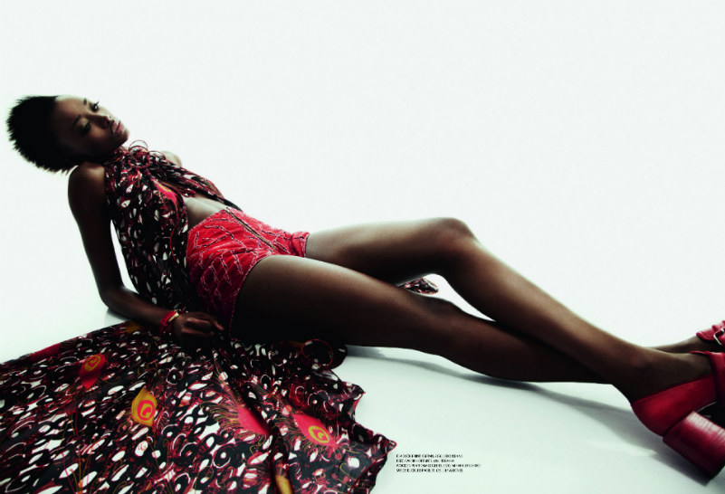 Georgie Badiel by Sheila Okonkwo for Arise #13
