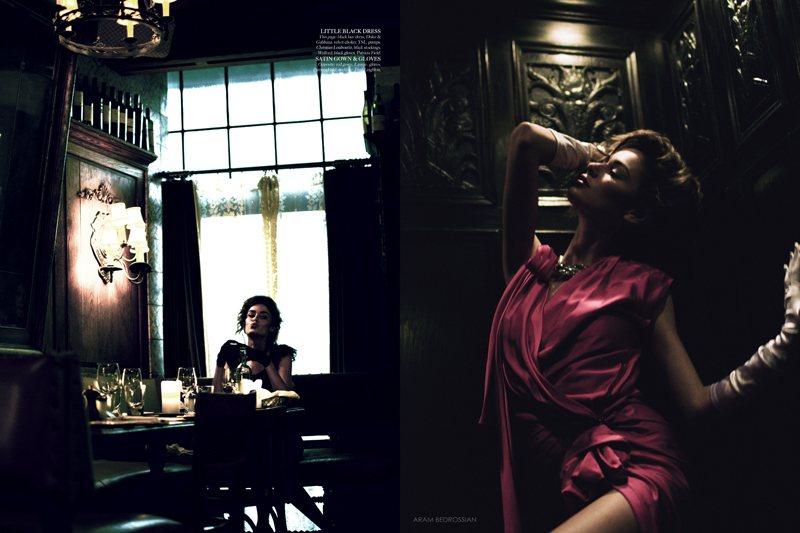 Nicole Trunfio by Aram Bedrossian for LoveCat #2