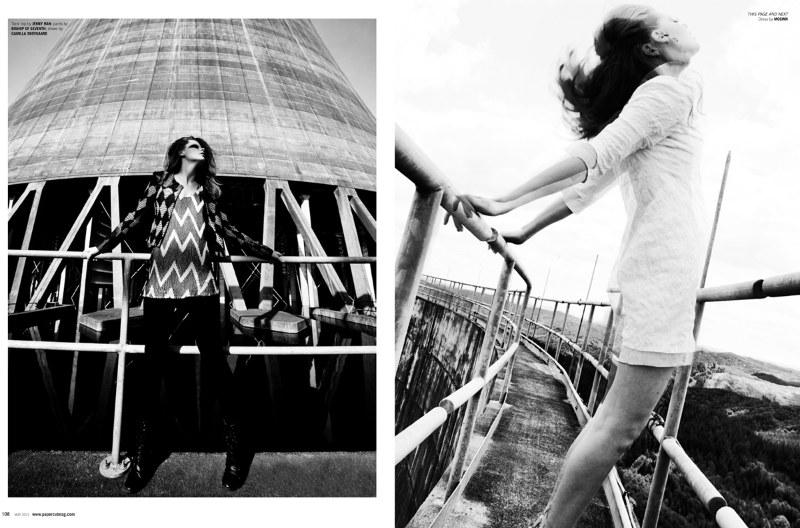 Kelsey Jean Harding by Alvin Nguyen for Papercut Magazine July 2011