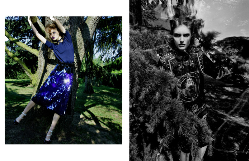 Katie Fogarty by Thomas Krappitz for Marie Claire Italia September 2011