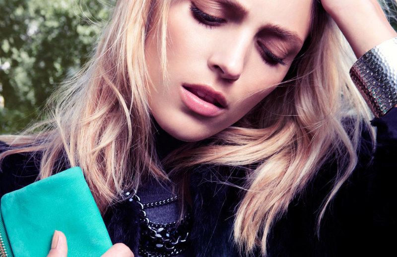 Anja Rubik for Kurt Geiger Fall 2011 Campaign