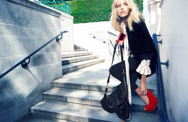 Anja Rubik for Kurt Geiger Fall 2011 Campaign