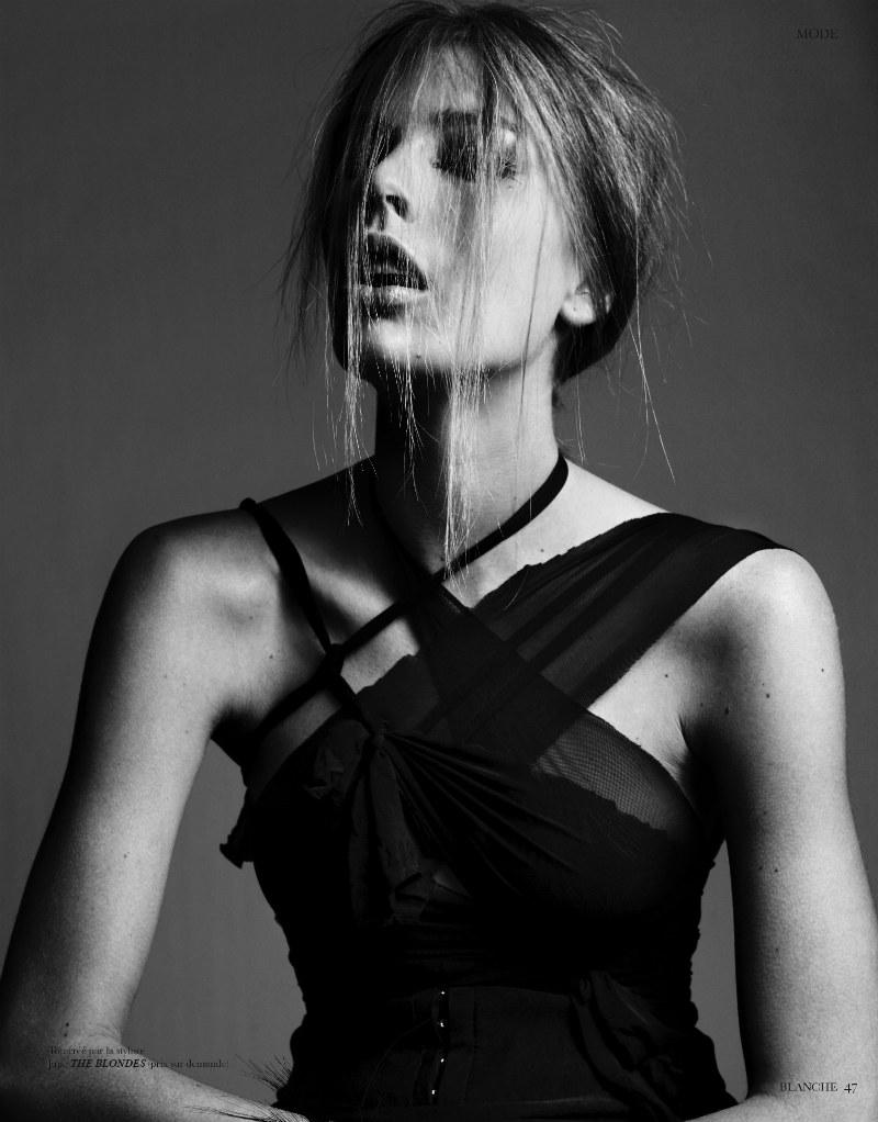 Madelene de la Motte by Jacob Sadrak for Blanche Magazine