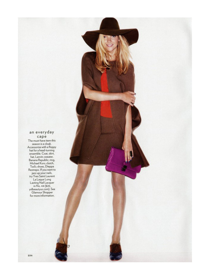 Heather Marks by Nicolas Moore for Glamour US October 2011