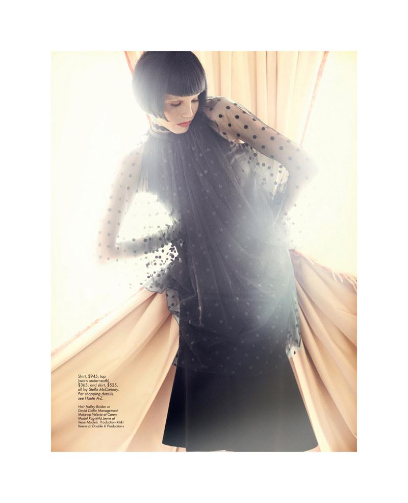 Ragnhild Jevne by Jorgen Gomnaes for HauteMuse Magazine #2