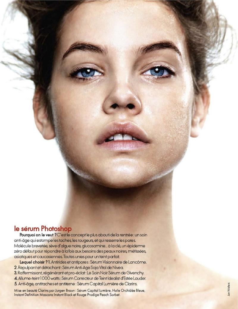 Barbara Palvin by Jan Welters for Elle France September 2011