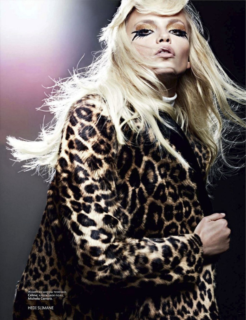 Natasha Poly by Hedi Slimane for Vogue Russia September 2011