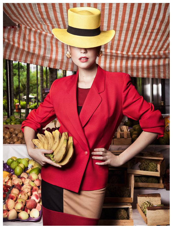 Rhaisa Batista by Eduardo Rezende for Vogue Brazil