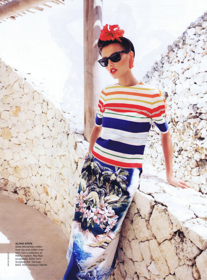 Alina Baikova by Nicole Bentley for Vogue Australia November 2011