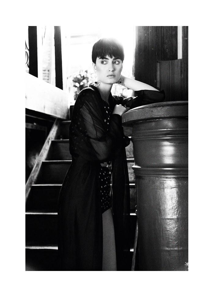 Pauline Van der Cruysse by Yossi Michaeli for 125 Magazine