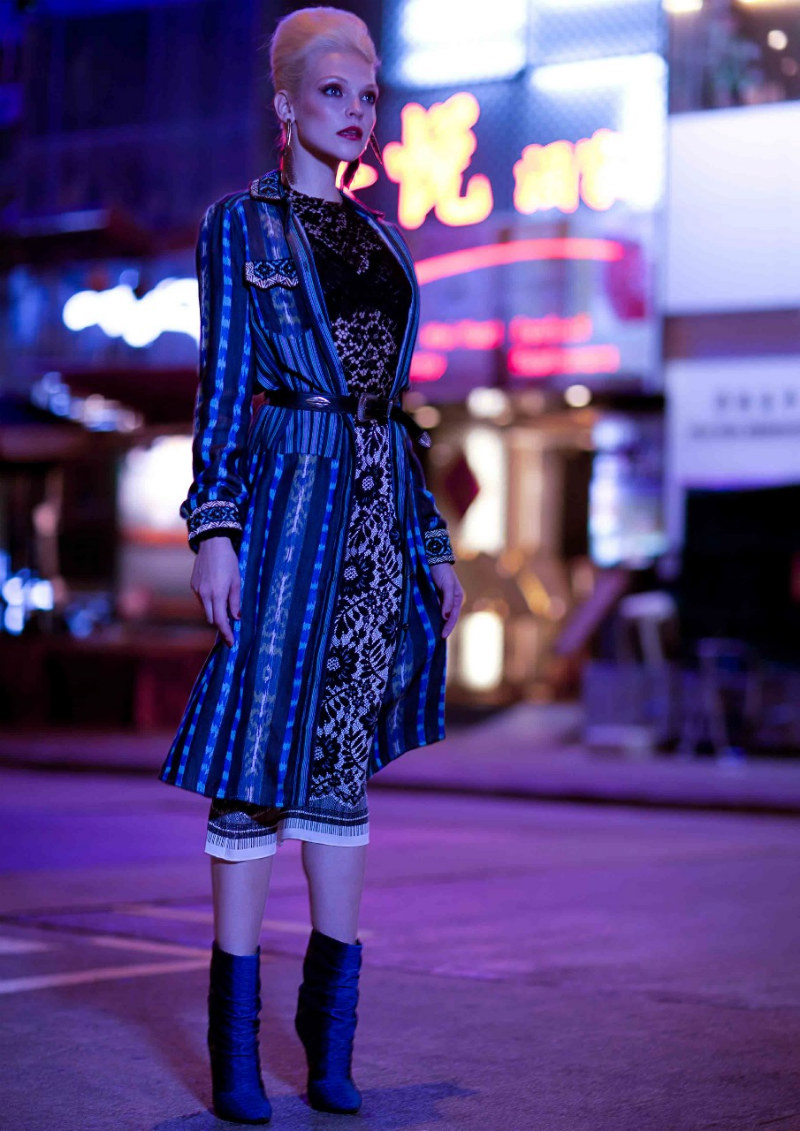Britni Stanwood by Daniel Garriga for SCMP Style Magazine