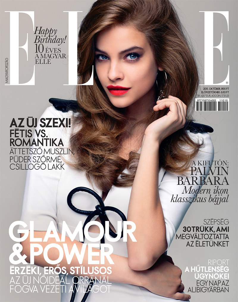 Barbara Palvin by Zoltan Tombor for Elle Hungary October 2011