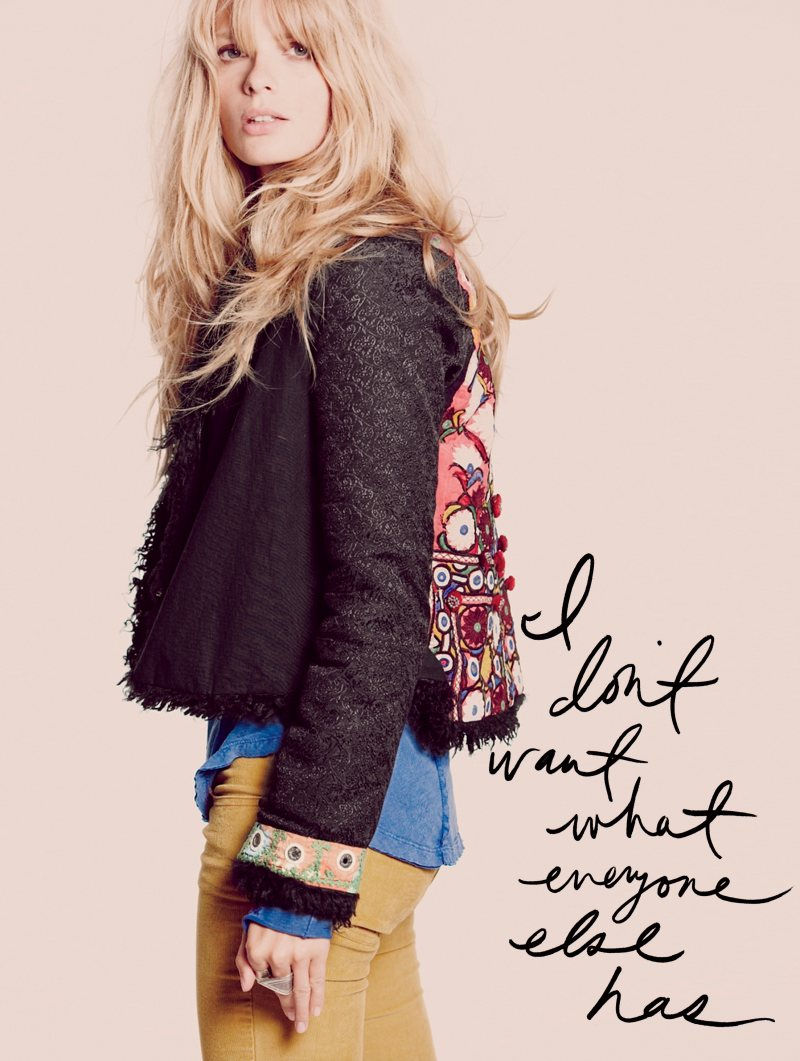 Julia Stegner by Guy Aroch for Free People October 2011 Lookbook