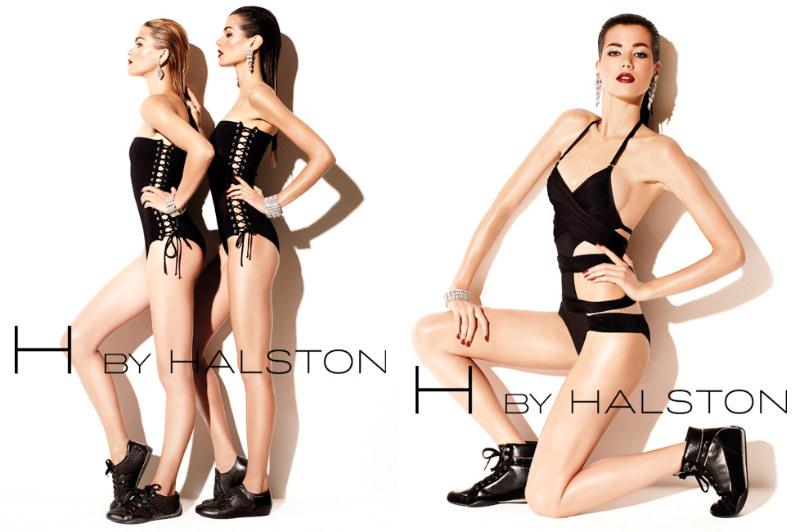 H by Halston Athletics 2011 Campaign | Sheila Marquez & Marlena Szoka by David Roemer
