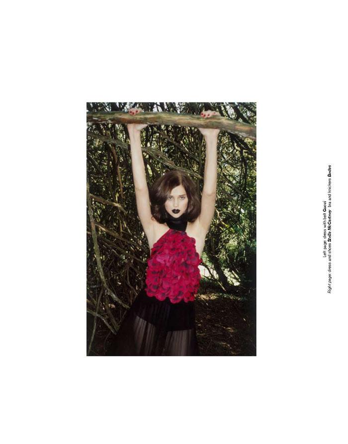 Anais Pouliot by Greta Ilieva for Zoo #32