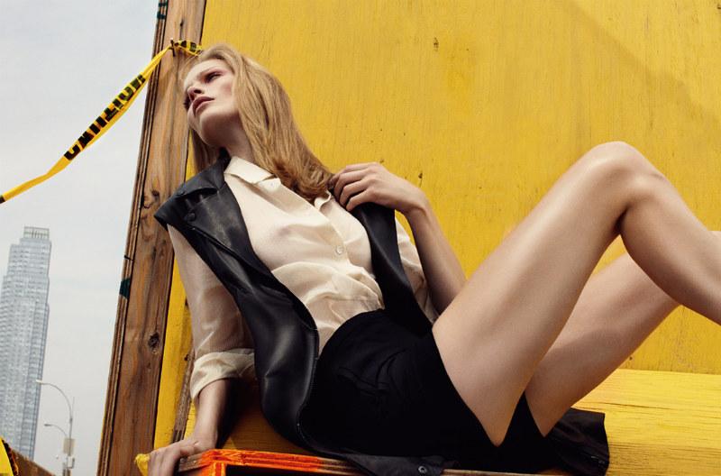 Katrin Thormann by Benny Horne for Bon F/W 2011