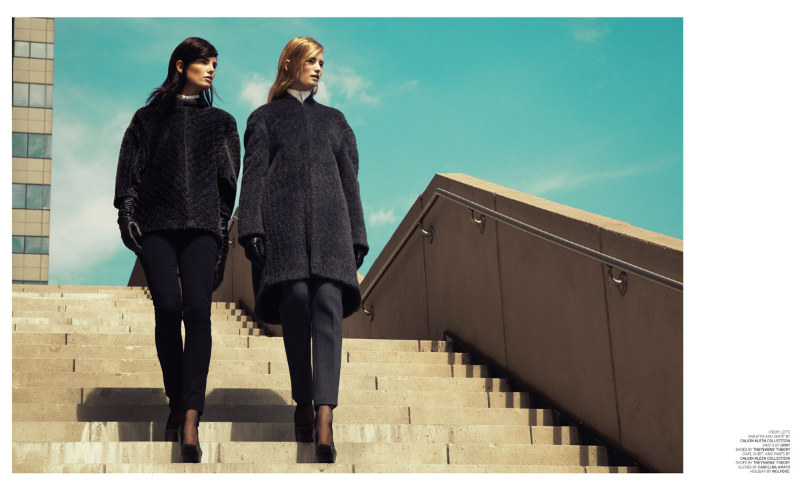 Maud Welzen & Ava Smith by Jason Kim for BlackBook October 2011