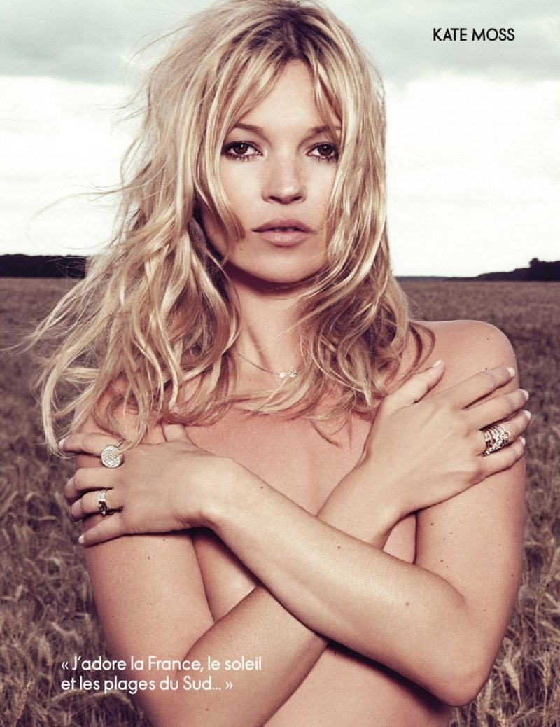 Kate Moss by Sonia Sieff for Elle France