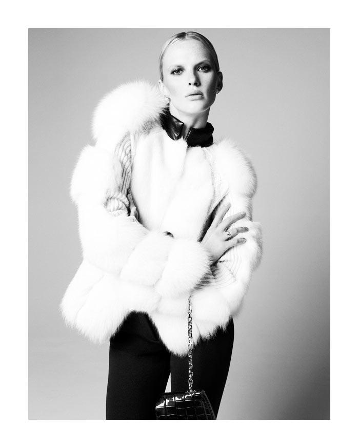 Anne Vyalitsyna by Nagi Sakai for Elle France