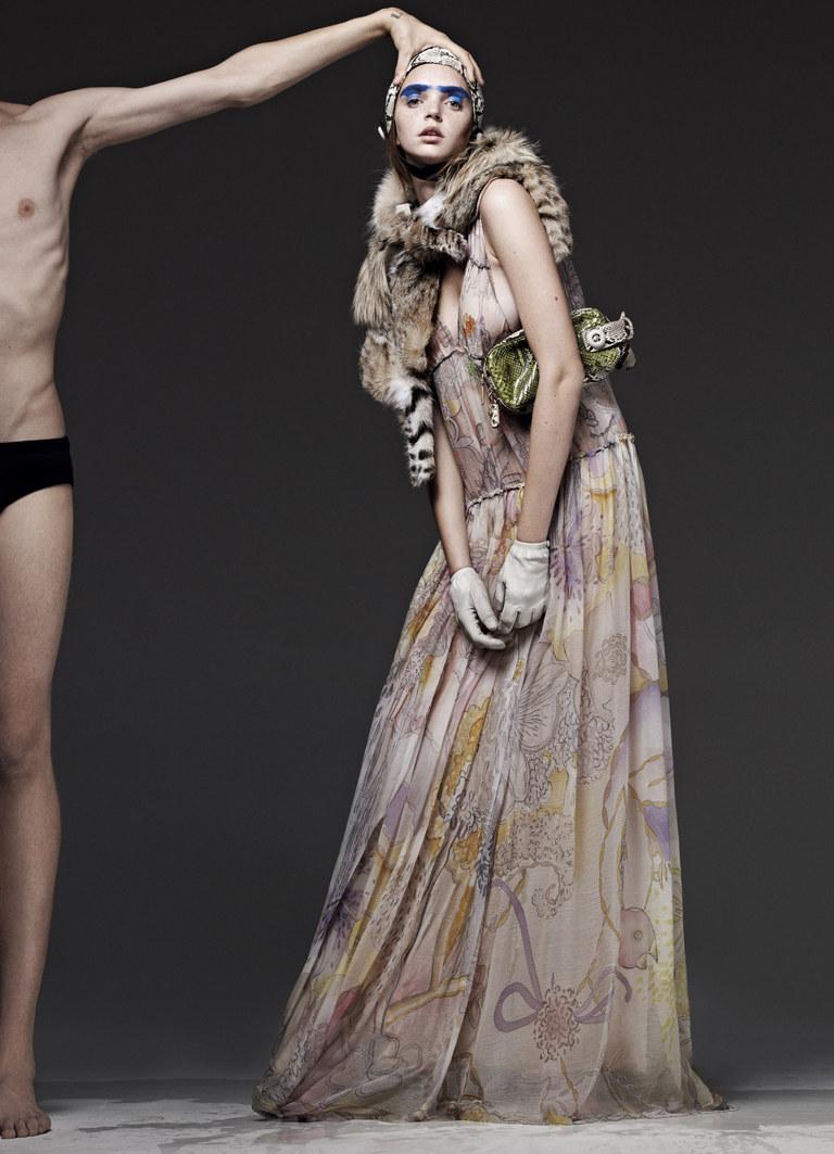 Drielle Valeretto by Emilio Tini for unFLOP Paper Magazine F/W 2011