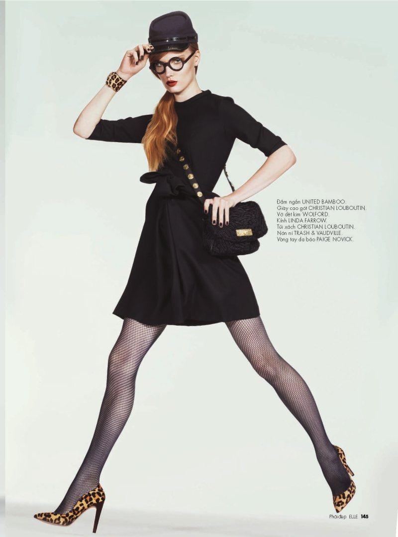Henrietta Hellberg by Andrew Yee for Elle Vietnam October 2011