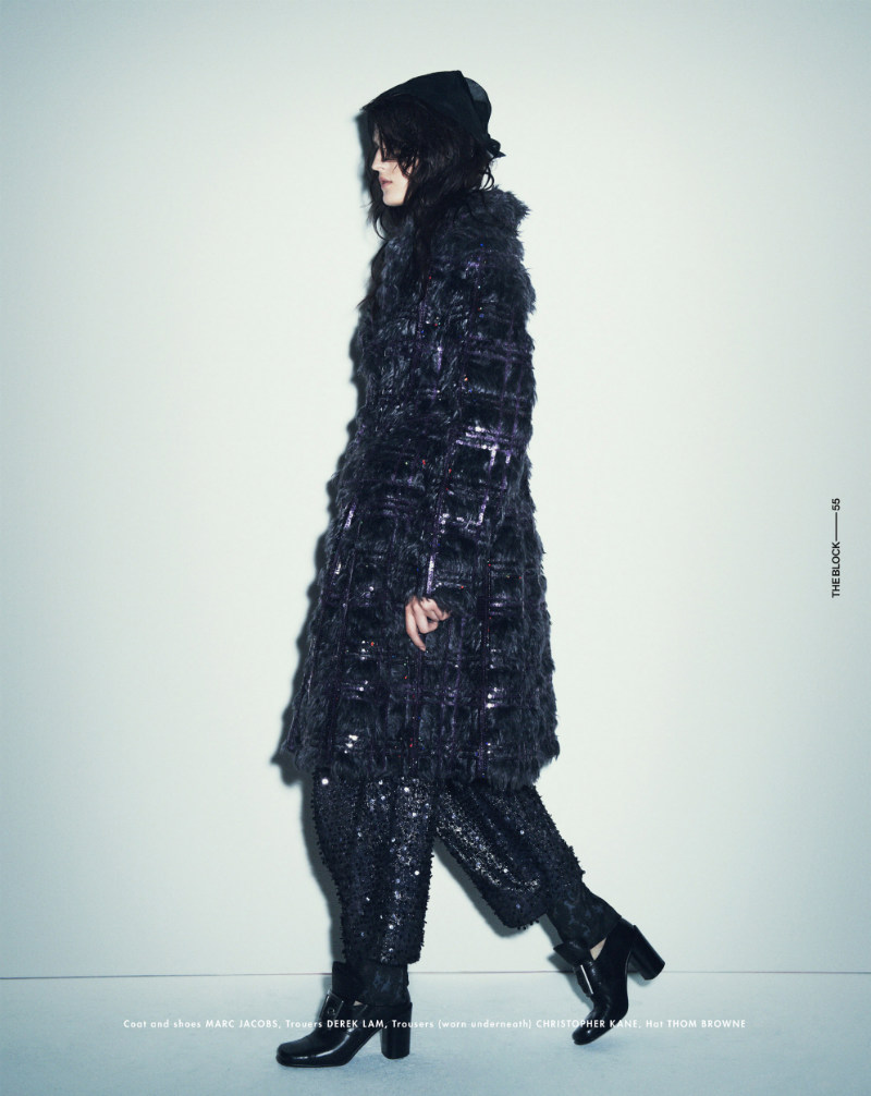 Katlin Aas is Glamorously Grunge for Ward Ivan Rafik in The Block F/W 2012