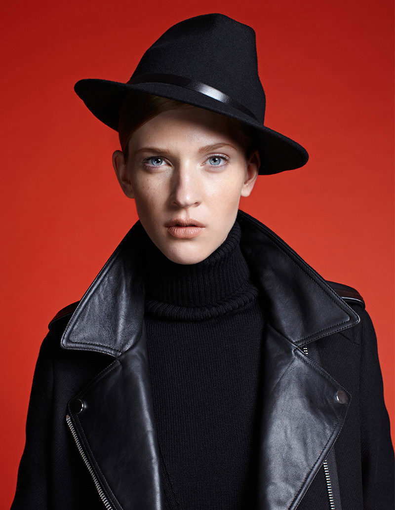 Edith Zsambok Covers Up for Marie Claire Hungary, Lensed by Zoltan Tombor