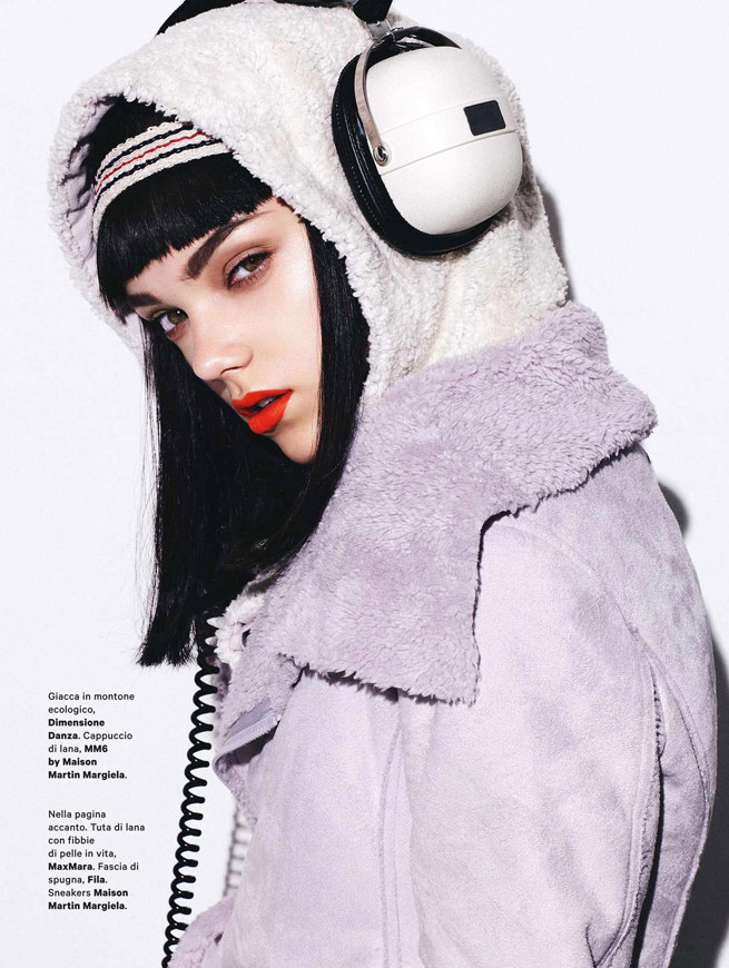 Jenna Earle Mixes Sport and Style for Amica October 2012, Lensed by Takahiro Ogawa