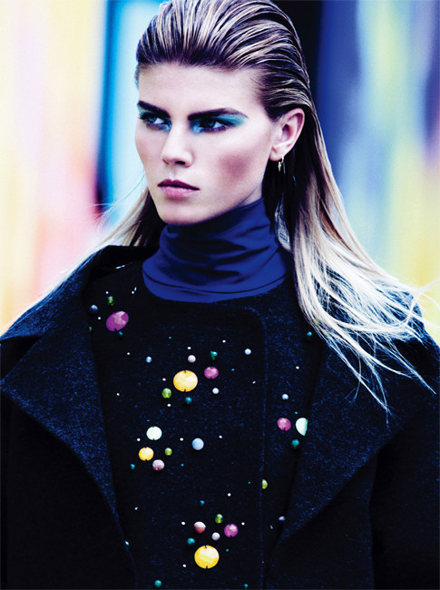Maryna Linchuk Plays it Cool for V Magazine Spain #14