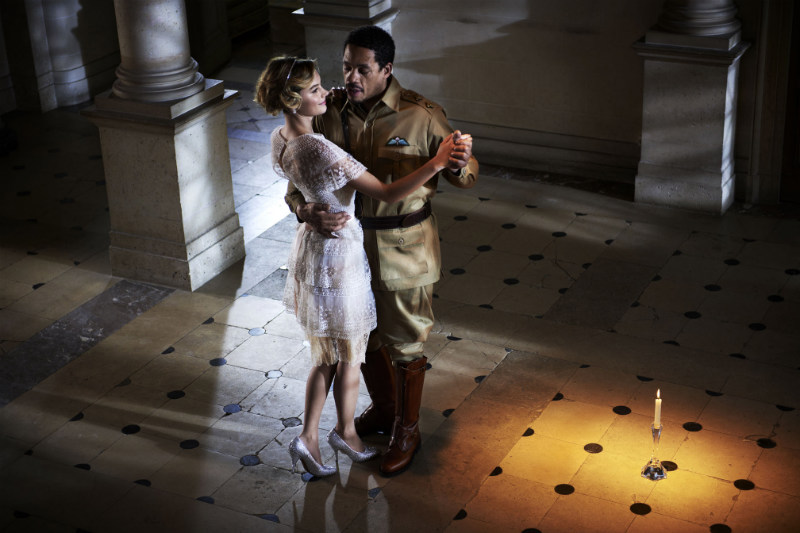 "Elle France Enlists David Vasiljevic to Capture ""The Great Gatsby"", Starring Camille Rowe"