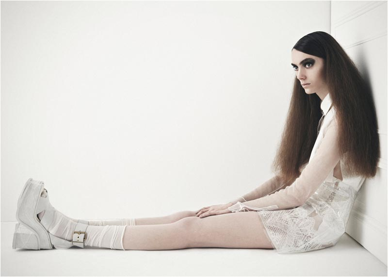 Thea Stratton Haunts in Toby Knott's Latest Story for Velour Magazine
