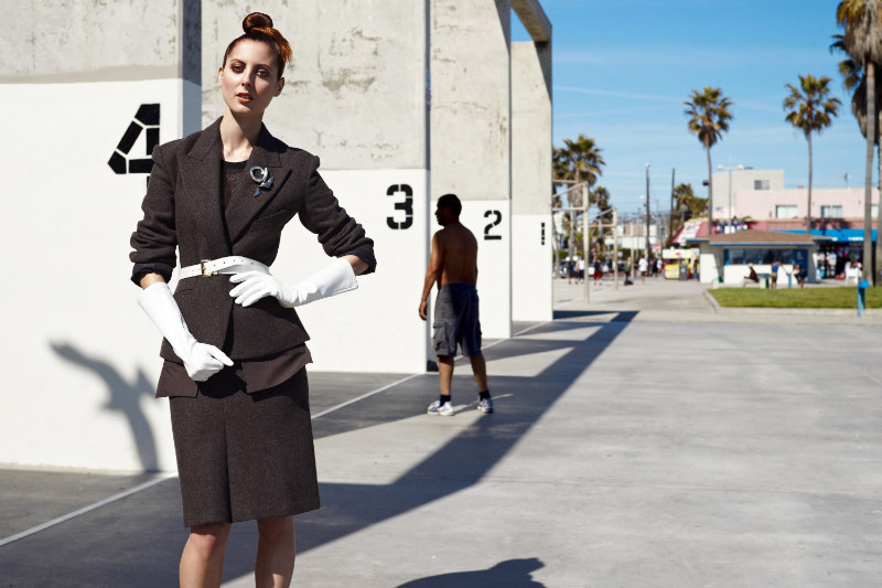 Eva Amurri Martino Hits Venice Beach for InStyle US
