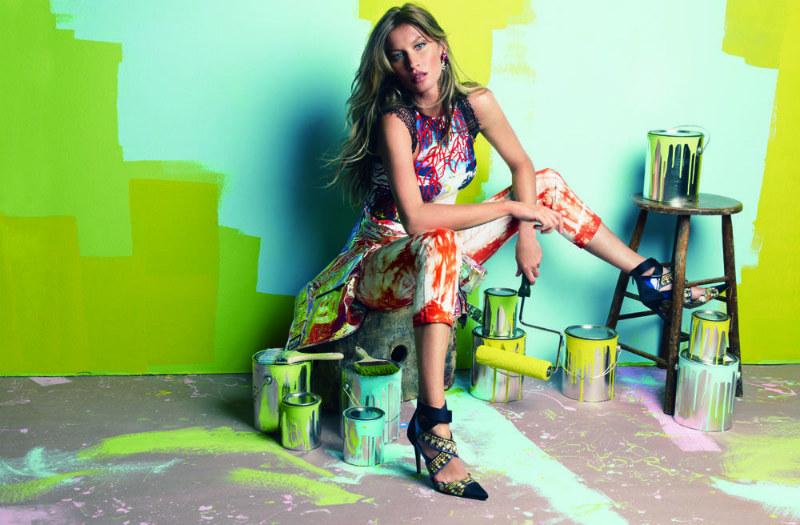 Gisele Bundchen Tags Up Vogue Brazil's July 2012 Issue by Patrick Demarchelier