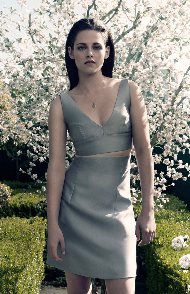 Kristen Stewart is Simply Elegant for Elle UK June 2012, Lensed by David Slijper