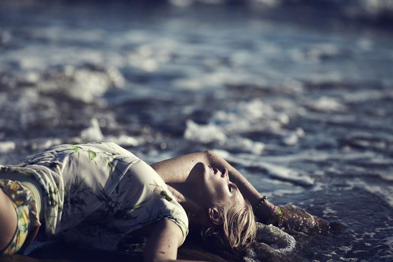 Natalia Uliasz Sizzles For Elle Greece June 2012, Lensed by Dimitris Skoulos