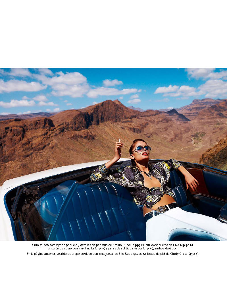 Elvis Lives On for S Moda's June 2012 Issue, Lensed by Alvaro Beamud Cortes