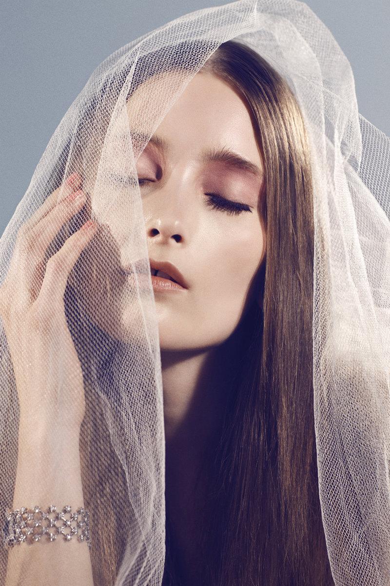 Iekeliene Stange Radiates Summer Beauty in Chanel for Costume Magazine's June Issue