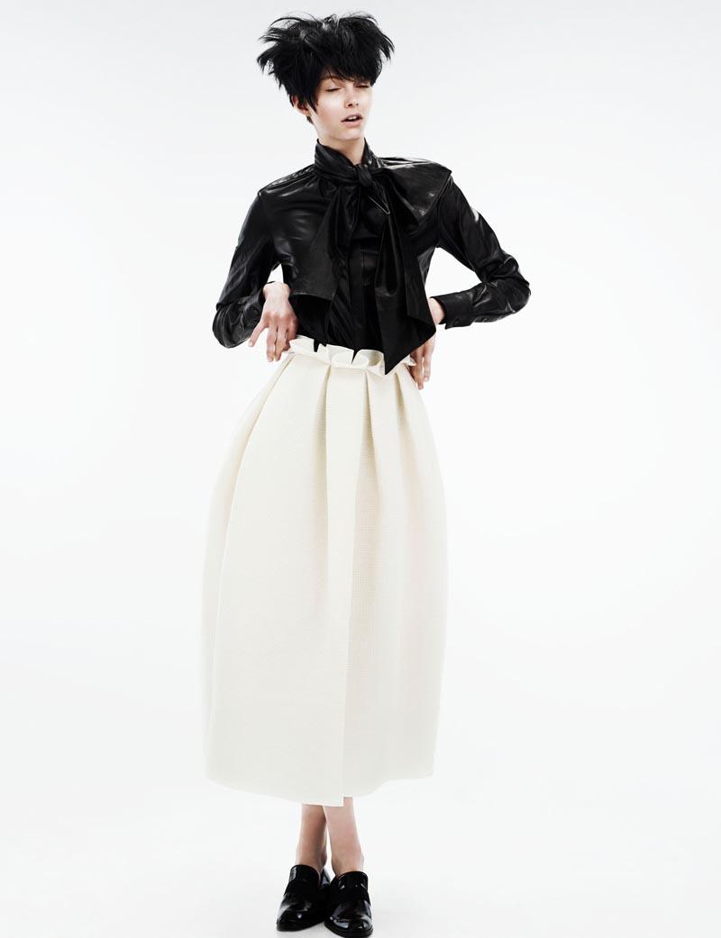 Wee Khim Shoots Boyish Elegance for Style Singapore June 2012