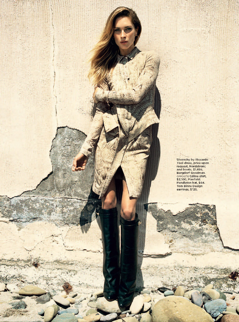 Erin Wasson is a Western Beauty in Hilary Walsh's Shoot for C Magazine