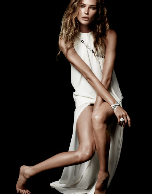 Erin Wasson is a Diamond Girl in David Roemer's Story for the Evening Standard