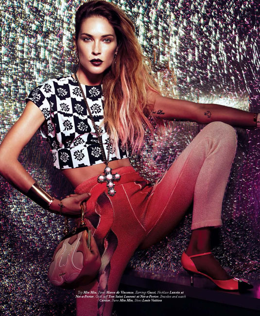 Erin Wasson is Pretty in Prints for Bullett's Summer Issue, Lensed by Andrew Yee