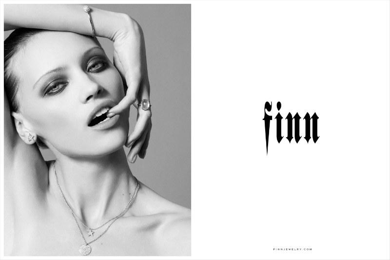 Nagi Sakai Captures Stunning Portraits for Finn Jewelry's Fall 2012 Campaign
