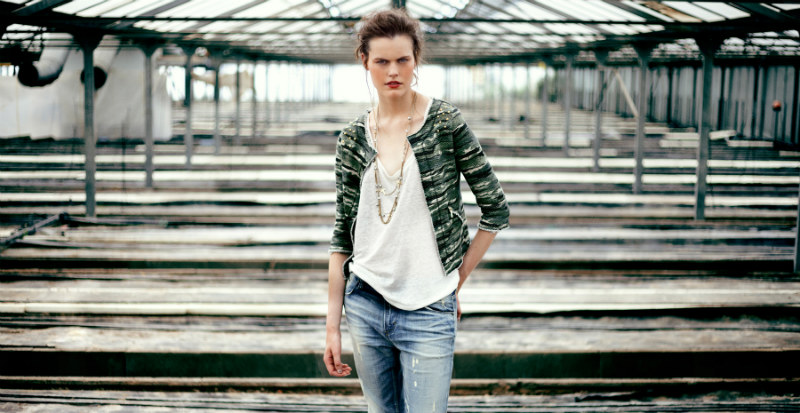 Bershka's August 2012 Lookbook is Casually Romantic